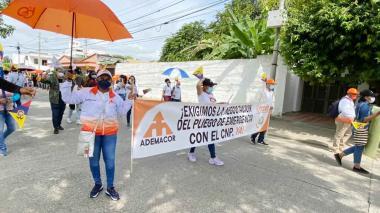 Docentes de Córdoba conmemorarán un mes del paro nacional