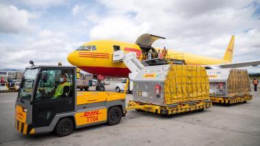 546.390 vacunas de Pfizer llegaron a Colombia este lunes