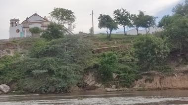 Erosión amenaza la histórica iglesia de Tenerife, Magdalena