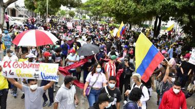 Encuesta de Guarumo indica que 56% de los colombianos no quiere que continúe el paro