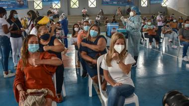 9.200 docentes del Atlántico serán inmunizados sin cita previa