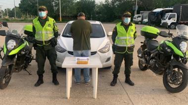 Capturados cuando transportaban droga en motocicletas