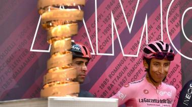Las declaraciones de Egan Bernal en la Etapa 18 del Giro de Italia