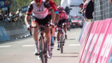 Clasificación general de la Etapa 18 del Giro de Italia