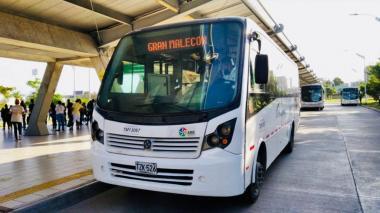 Marchas en Barranquilla: Transmetro suspende operaciones