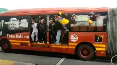 Recuperan bus que había sido robado en Bogotá