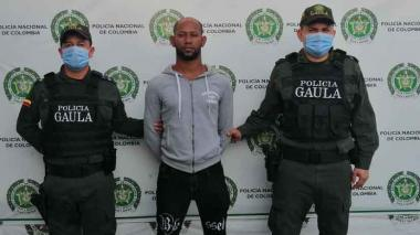 Capturan a hombre por extorsión en Santa Marta