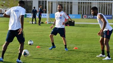 Sebastián Pérez habla de su regreso a la selección Colombia