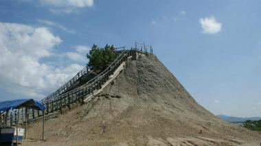 Activan monitoreo de volcanes de lodo en Cartagena