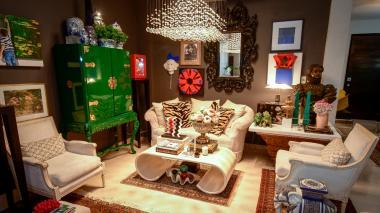 Una casa maximalista que cuenta la historia de sus residentes