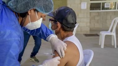 Jornada masiva de vacunación sin agendamiento en Barranquilla