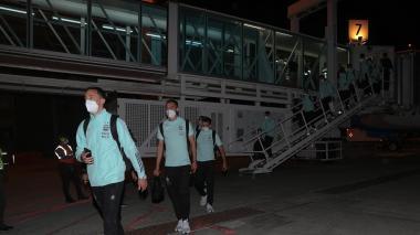 Lionel Messi ya está en Barranquilla