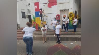 Indignación en Riohacha por murales borrados