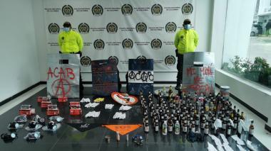 Policía incauta elementos que serían utilizados para boicotear Colombia- Argentina
