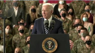 Biden llega a Europa en su primer viaje internacional