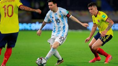 Lionel Messi vs. Colombia por Eliminatoria Conmebol