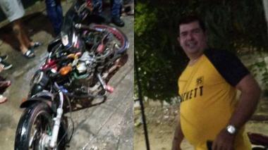 Motociclista murió tras ser arrollado por una buseta en el barrio Las Palmas