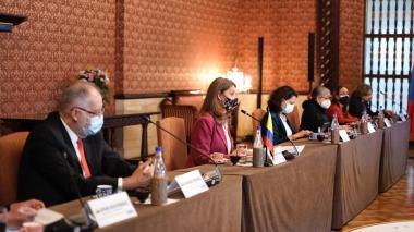 """""""Esperaremos las recomendaciones de la CIDH"""": vicepresidenta"""