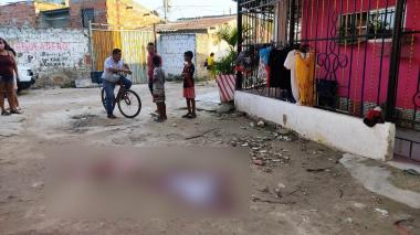 Asesinan a una joven en Altos de la Metro, Soledad
