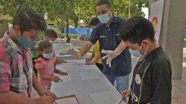 Parques de Barranquilla vuelven a llenarse de arte y cultura