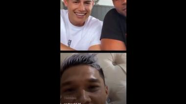James, Teo y Zúñiga hablan de Junior, Real Madrid y Selección Colombia en Instagram