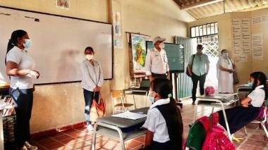 Con protocolos, Valledupar arranca alternancia educativa
