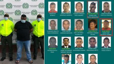 Capturan a otro integrante del cartel de los más buscados en La Guajira