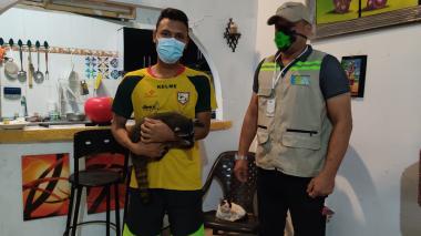 Cartageneros devolvieron 79 animales en cautiverio
