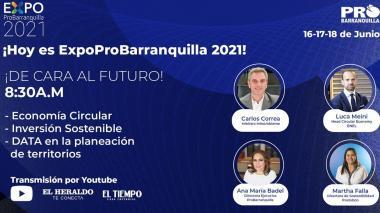 Día 1 de ExpoProBarranquilla   De cara al futuro