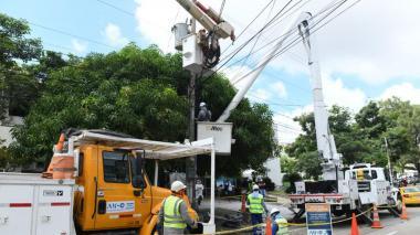 Mantenimiento de redes eléctricas en Barranquilla y municipios este jueves