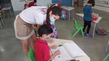 Bureche, el único colegio de Santa Marta con esquema de alternancia