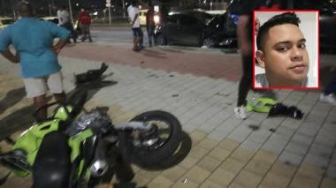 En medio de operativo, policía es atropellado y muere