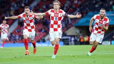 Croacia clasificó a los octavos de final de la Euro