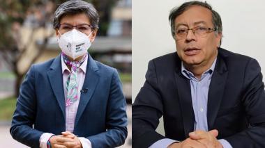 Claudia López y Gustavo Petro vuelven a pelear en Twitter