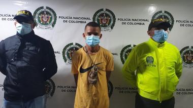 Capturan a alias El Flaco por orden judicial en Ciénaga, Magdalena