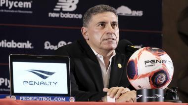 Suárez dice tener talento suficiente para comenzar su proyecto con Costa Rica