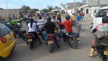 Muere hombre tras accidente de moto en Riohacha