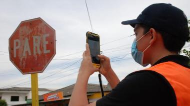 Con alta tecnología realizan inventario de vías y señalización en Atlántico