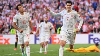 España clasificó a los cuartos de la Euro