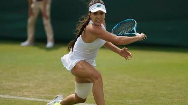 María Camila Osorio ganó en su debut en Wimbledon
