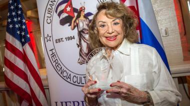 Murió la escritora cubana Delia Fiallo