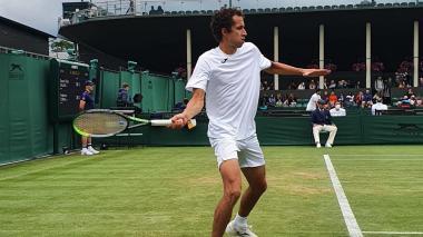 Daniel Galán perdió en Wimbledon