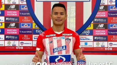 Sebastián Herrera dio sus primeras declaraciones como jugador de Junior