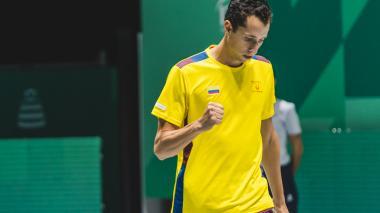 Daniel Galán será el tercer tenista colombiano que jugará los Juegos Olímpicos de Tokio
