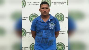 Capturan a alias Cachete, cabecilla de los 'Pachenca' en Santa Marta