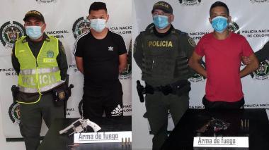 Capturan a dos presuntos integrantes de 'los Costeños'