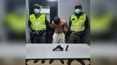 Presunto sicario se escapa de la Estación de Policía San José