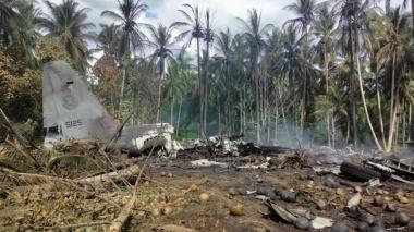 31 muertos, 54 heridos y 17 desaparecidos tras accidente de avión filipino
