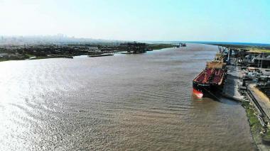Calado del canal de acceso a la zona portuaria de Barranquilla sigue cayendo: 7,7 metros