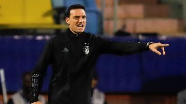 """""""Vamos a enfrentar a una Colombia con gran nivel y jerarquía"""": Scaloni"""